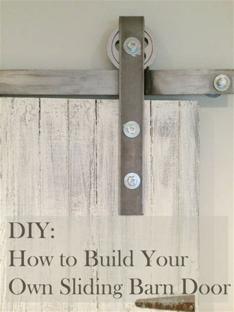 25 Best Ideas About Diy Barn Door Hardware On Pinterest Make Your Own Barn Door Track
