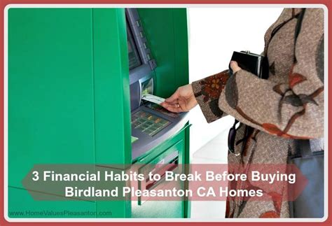 worst time of year to buy a house 3 financial habits to break before buying a home