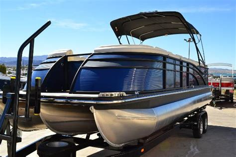 used pontoon boats for sale az crest pontoon boats boats for sale near lake havasu city