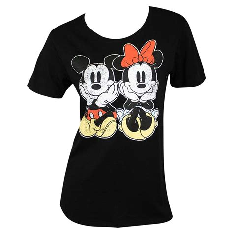 Tshirt Mickey From Ordinal Apparel mickey and minnie mouse s black distressed t shirt tvmoviedepot