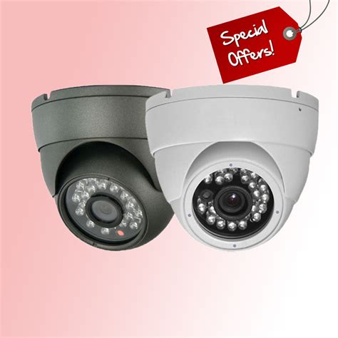 Cctv Outdoor 1000 Tvl In Sony white grey dome metal outdoor waterproof cctv