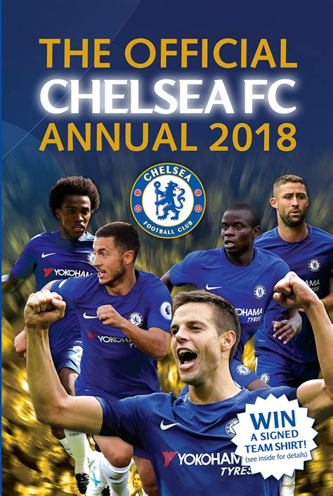 the official chelsea fc 1910199427 chelsea annual 2018 h b fs