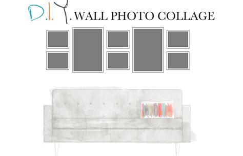 how to design a gallery wall how to create a wall photo collage 4 diy rules 187 fine