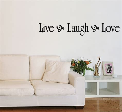 live laugh love home decor live laugh love vinyl wall quote decal family home decor