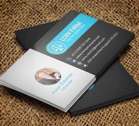 lawyer business card templates 25 creative lawyer business card templates