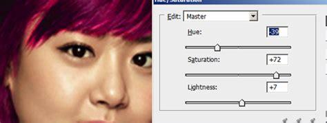 tutorial photoshop cs3 mewarnai rambut tutorial photoshop mengubah warna rambut dengan