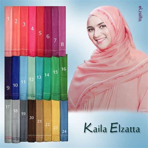 Kerudung Scraft Keisha Sania By Elzatta es 0014 jilbab segi empat kerudung polos terbaru kaila elzatta elzatta jual jilbab