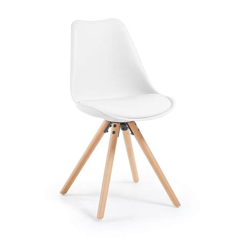 gambe per sedie sedia lars su gambe in legno la forma ec005s0 designperte it