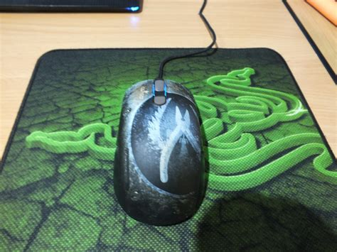 Limited Edition Hoist Push Button 2 Dua Tombol review mouse steelseries kana csgo edition mouse gamer csgo edisi terbatas