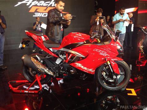 Bmw Motorrad Malaysia Dealer by Tvs Apache Rr 310 2018 Dilancarkan Di India Asas Dari