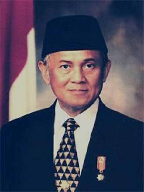bj habibie quot figure this week quot bj habibie mr technology and