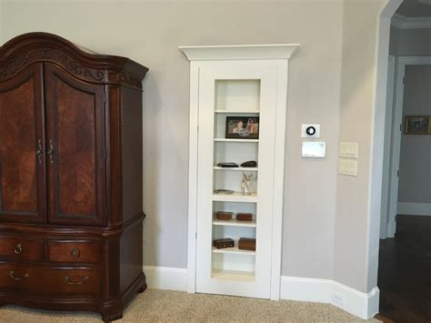 how to build a bookcase door make a bookshelf door hidden closet the geek pub