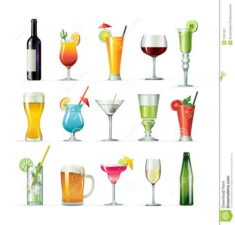 cocktail illustration fancy drink cocktails stock vector illustration of