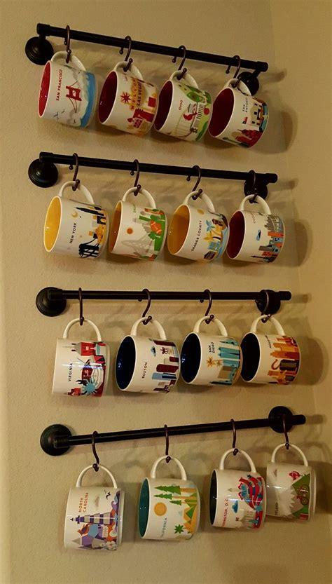Mug Shelf Kitchen by Best 25 Coffee Mug Storage Ideas On Mug Rack