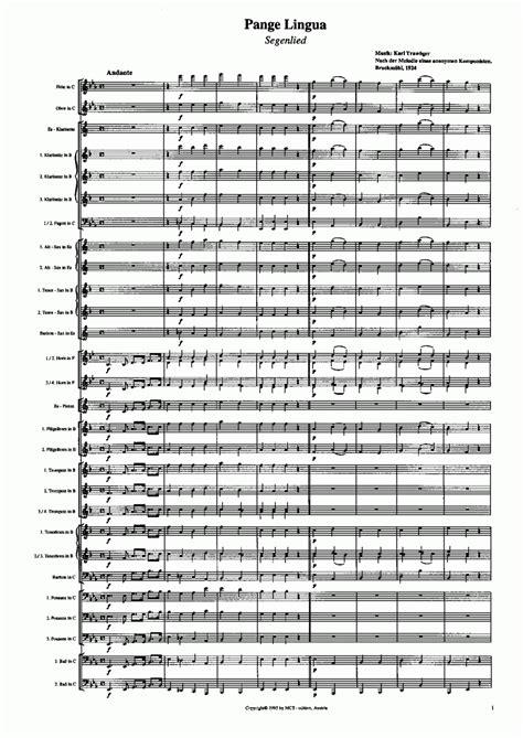 pange lingua testo musicainfo net dettagli pange lingua 9552050