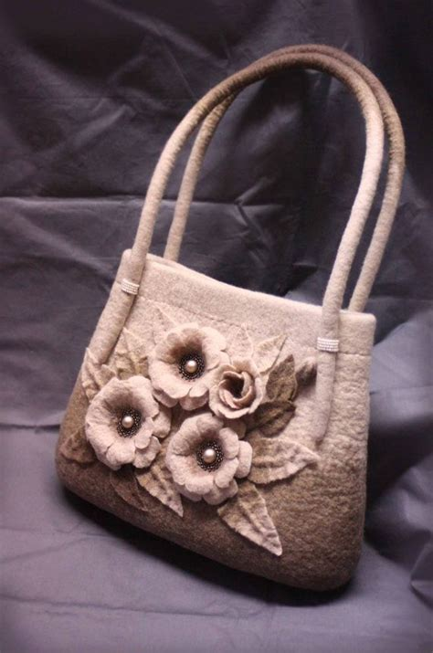 Handmade Felted Purses - 27 best images about borse handmade on