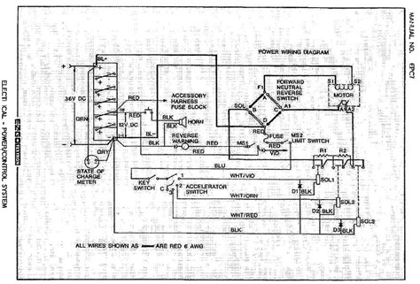 need a wiring diagram for ezgo k2894 serial 831577