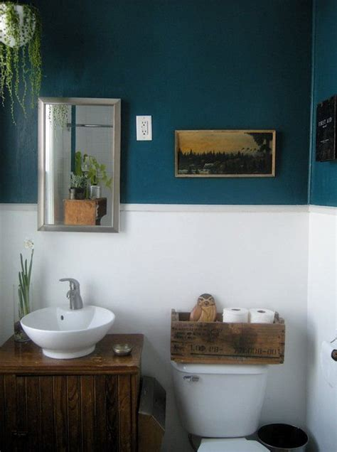bathroom colora paint color portfolio dark blue bathrooms