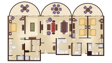 animal kingdom lodge 2 bedroom villa floor plan disney s animal kingdom villas guide walt disney world