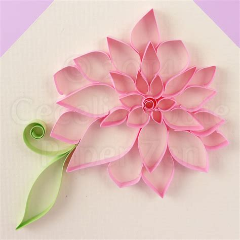flower tutorial paper quilling paper zen quilling tutorial outlined flowers
