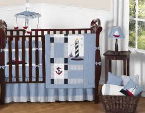 Nautical Baby Boy Crib Bedding Discount Designer Nautical Boat Themed Sailing Baby Boy Crib Quilt Bedding Set
