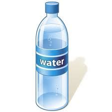 a small bottle of water a lifesaver