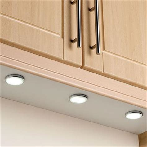 kitchen cabinet led downlights endon el 10031 surface mounted kitchen led downlight kit