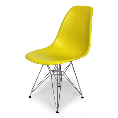Chartreuse Chair by District17 Chartreuse Mid Century Eiffel Dining Chair