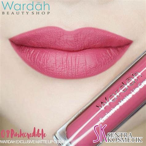 Harga Wardah Eksklusif Lip lipstik exclusive wardah warna pink the of