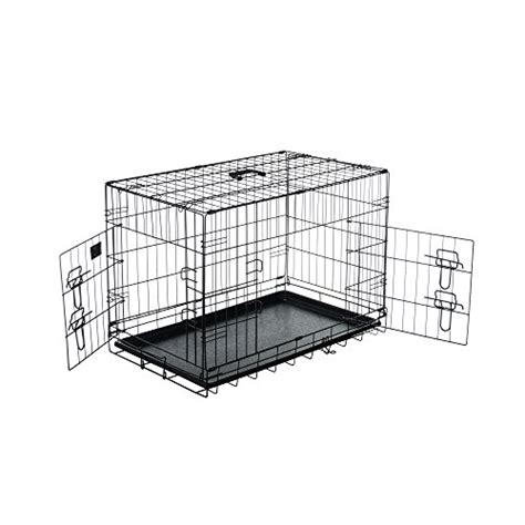 30 inch crate pet trex 2191 30 inch crate door folding pet crate kennel 30 quot k9 crates