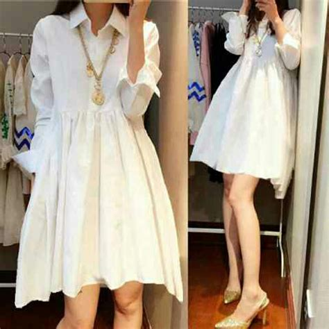 Dress Baju Korea Lengan Panjang Murah Kb075 model baju mini dress pendek lengan panjang terbaru murah