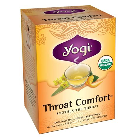 throat comfort tea yogi throat comfort tea tea lady