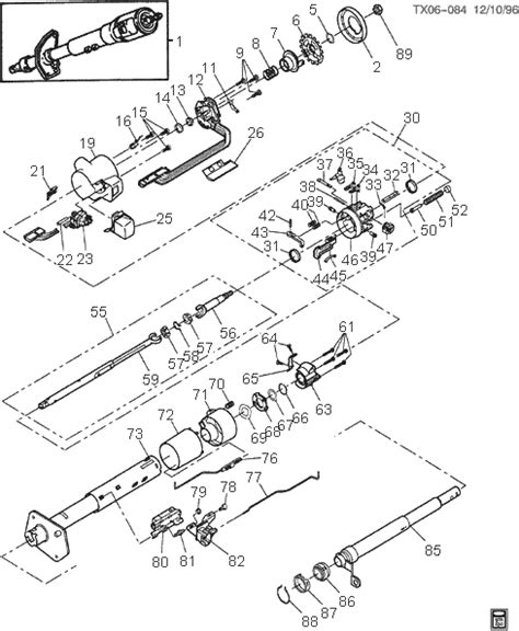 1978 ford bronco steering column diagram wiring diagrams
