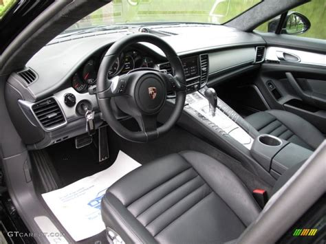 Porsche Panamera Black Interior by Black Interior 2011 Porsche Panamera Turbo Photo 64702101 Gtcarlot
