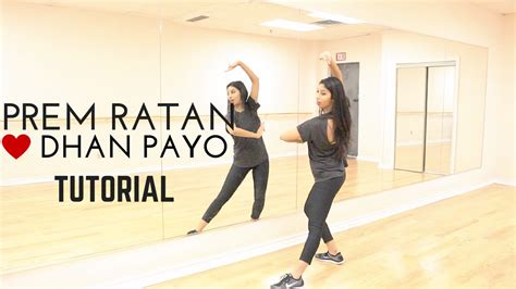 tutorial dance bollywood prem ratan dhan payo tutorial learn bollywood dance with