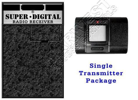 stanley garage door opener receiver  single transmitter