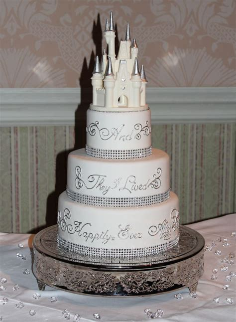 Disney Wedding Cake by Disney Wedding Cake But With Sleeping Maybe It S
