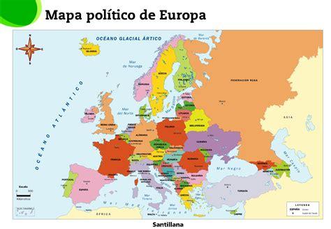 europa y africa mapa politico mapa politico europa capitales
