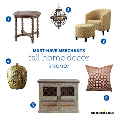 must have home items must have merchants fall interior home decor shareasale
