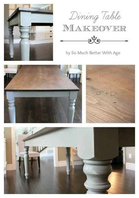 Diy Paint Dining Room Table Colors Of Fall Thanksgiving Dining Room Table Diy Furniture And Chalk Paint