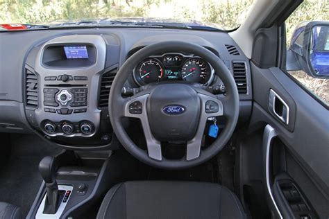 ford ranger interior ford ranger review xlt dual cab 4x4 photos caradvice