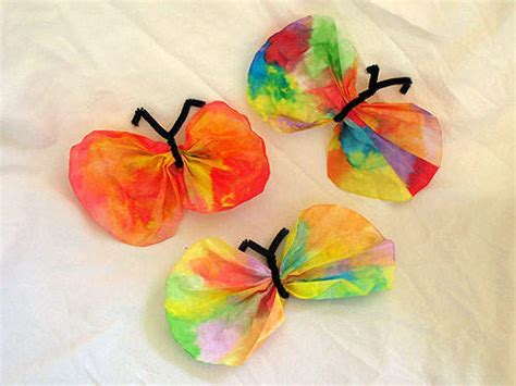 butterfly craft for the honeybunch home companion all aflutter butterfly crafts