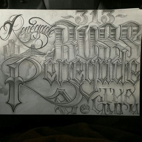 Mr Cartoon Tattoo Fonts | tattoo lettering by tha guru i love the lettering and he