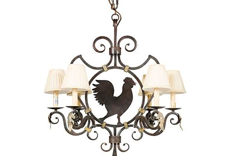 rooster chandeliers rooster chandelier