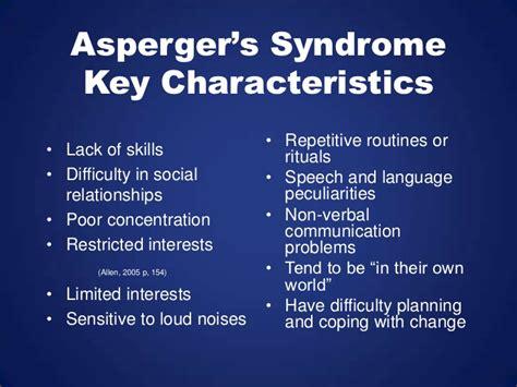 test sindrome asperger asperger s 1