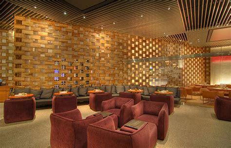 modern restaurant interior design geometric wood decor