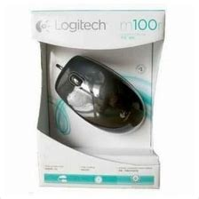 Murah Logitech M100r Optical Mouse Usb Black mouse logitech m100r price harga in malaysia