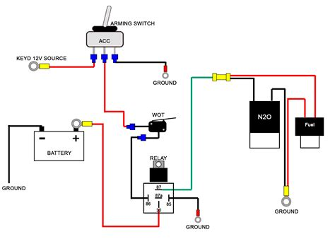 accessory relay wiring diagram wiring diagram with
