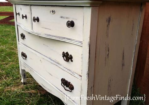 painting furniture white vintage white painted furniture roundup farm fresh vintage finds