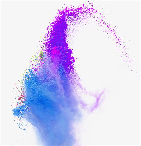 Lavender Neon Neon Aceh Putih color splash powder smoke color paint splash png image and clipart for free